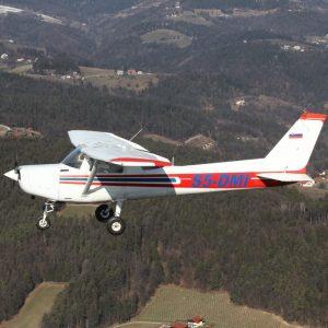 Panoramski polet z letalom Cessna 1 oseba 30 minut