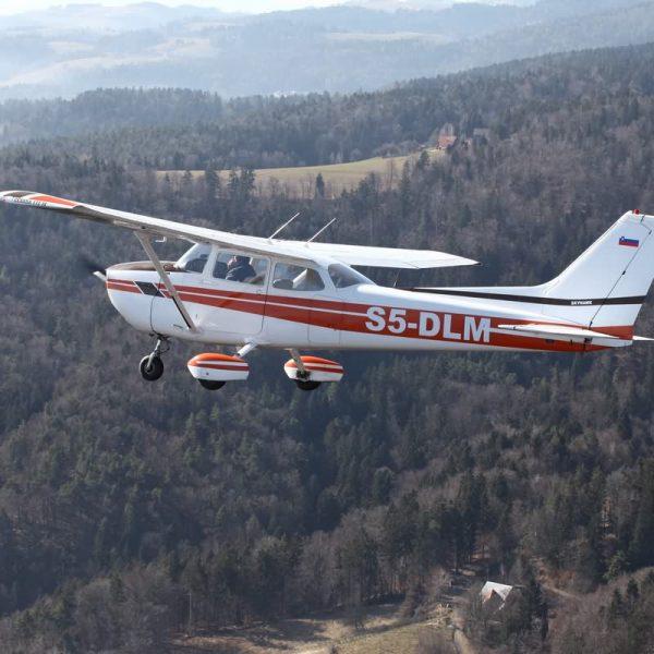 Panoramski polet z letalom CEssna 172 30 minut