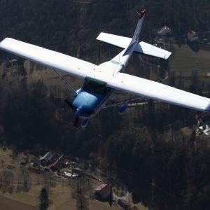 Panoramski polet z letalom do 5 oseb, 30 minut