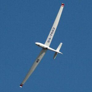 Šolanje za pilota jadralnega letala