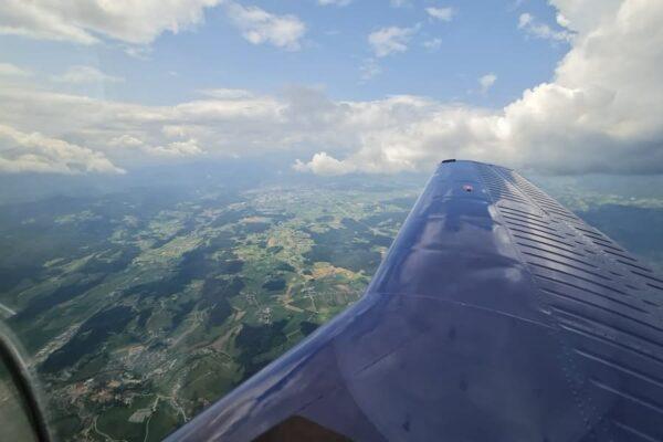 Commander S5-DRM uvodni let
